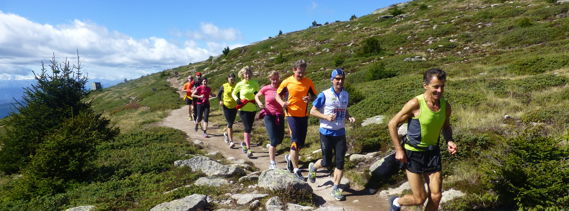 The perfect marathon training in South Tyrol against a beautiful setting