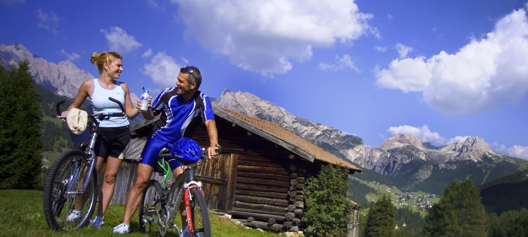 MTB in the Dolomites